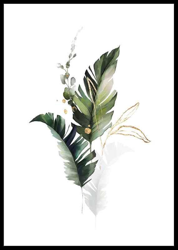 Watercolor Botanical No1-0