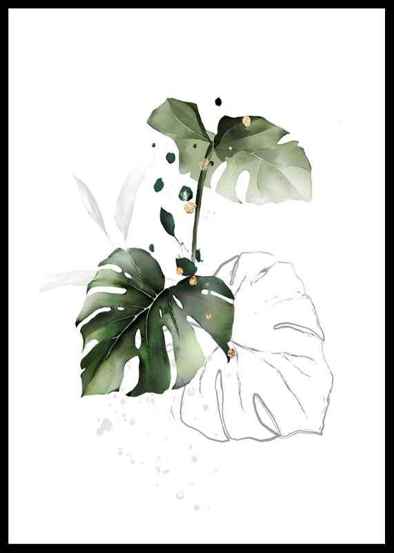 Watercolor Botanical No2-0