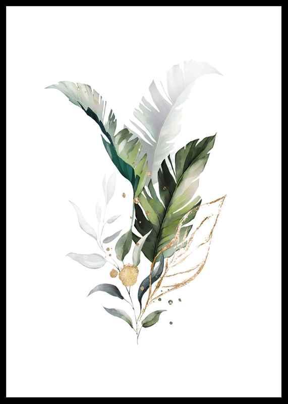 Watercolor Botanical No3-0
