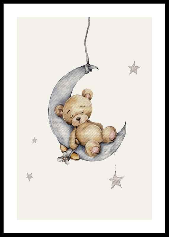 Sleeping Teddy-0