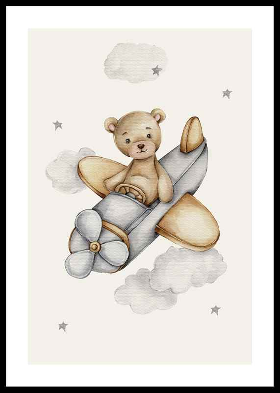 Airplane Teddy-0