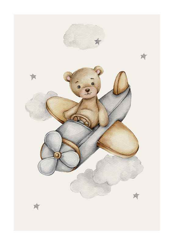 Airplane Teddy-1