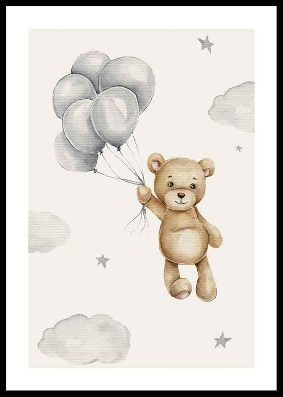 Balloons Teddy-0
