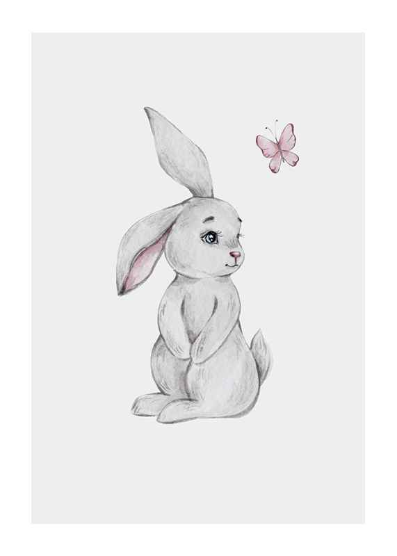 Bunny And Butterfly-1
