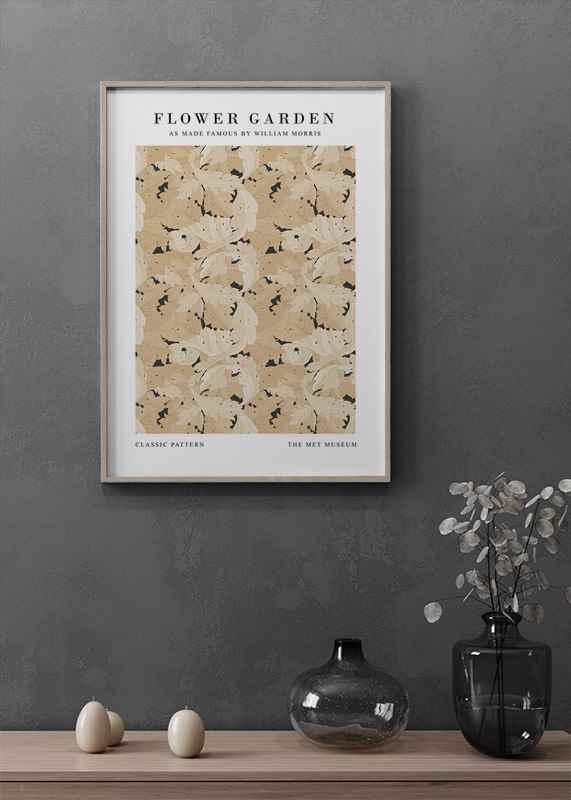 William Morris Flower Garden-2