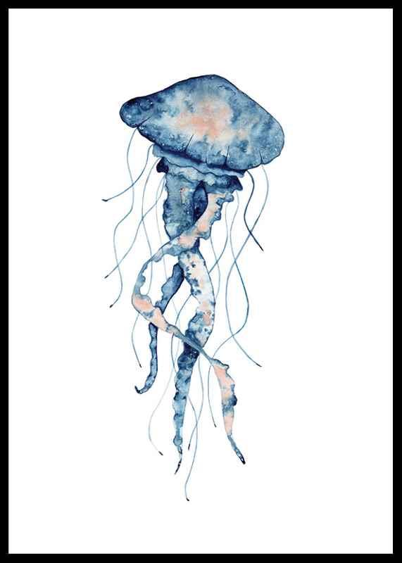 Blue Jellyfish-0