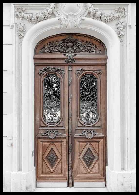 Brown Double Door-2