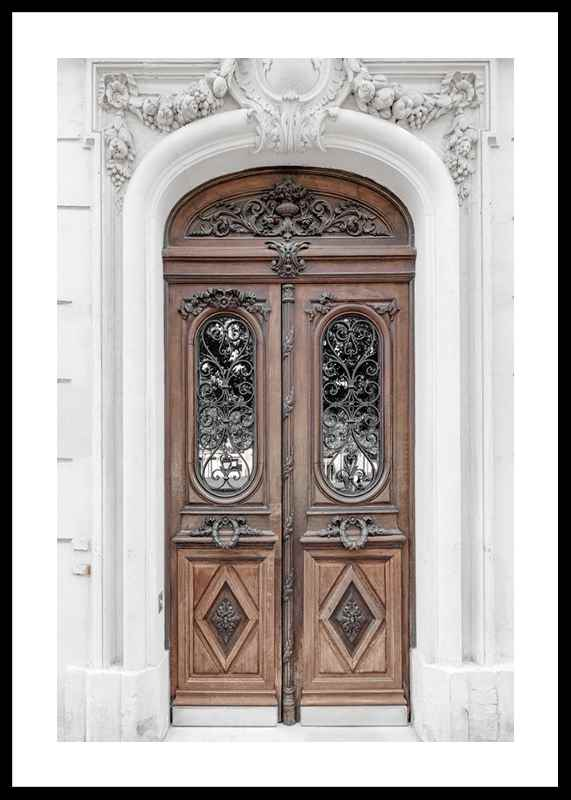 Brown Double Door