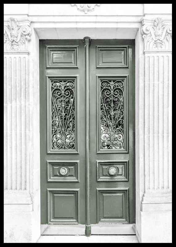 Green Double Door-2