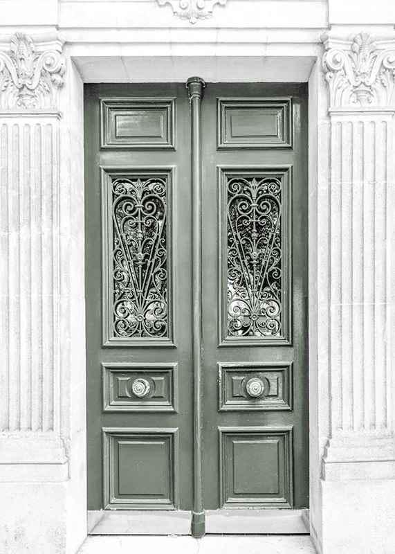 Green Double Door-3