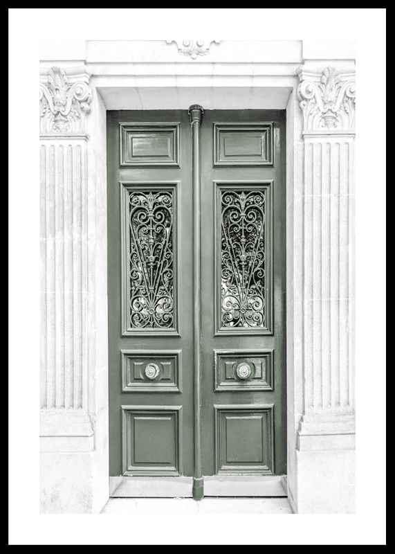 Green Double Door-0