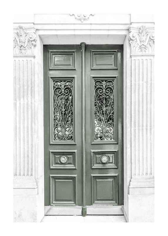 Green Double Door-1