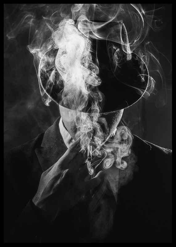 Smoking Man-2