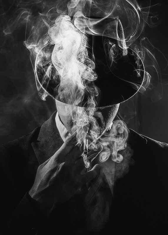 Smoking Man-3