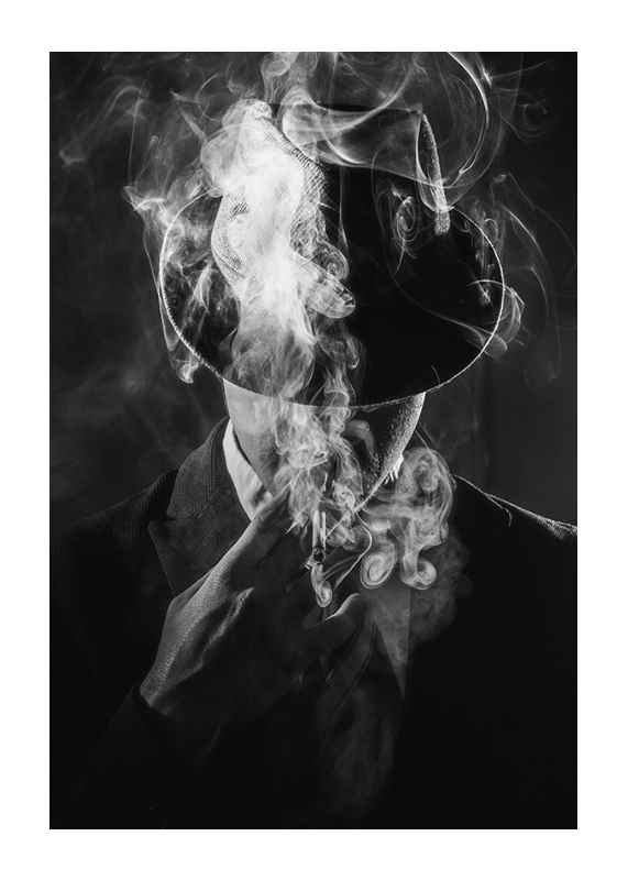Smoking Man-1