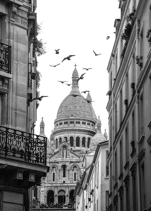 Afternoon in Montmartre-3