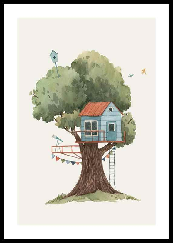 Tree House No2-0