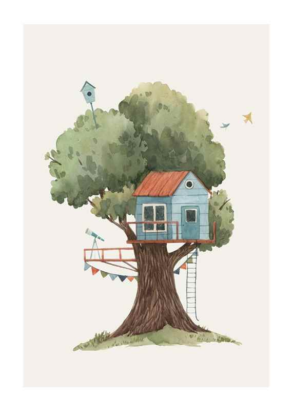 Tree House No2-1