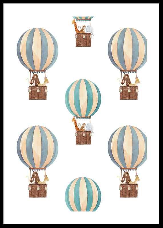 Animals Air Balloons
