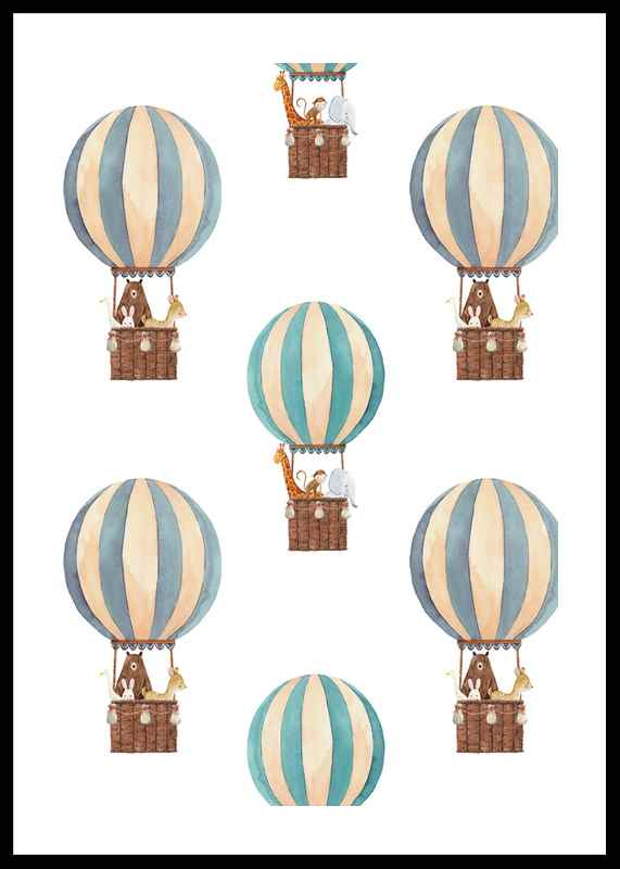 Animals Air Balloons-0