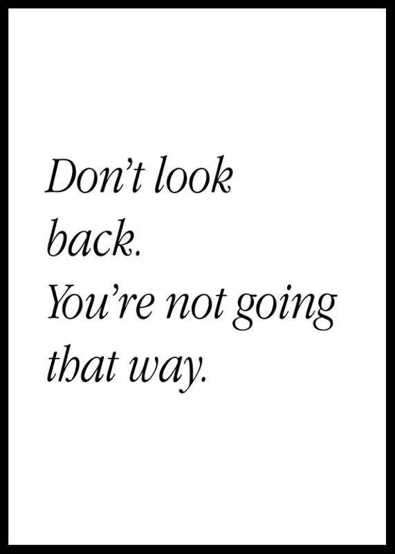 Don't Look Back-0