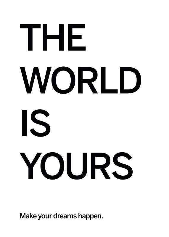World Is Yours-1