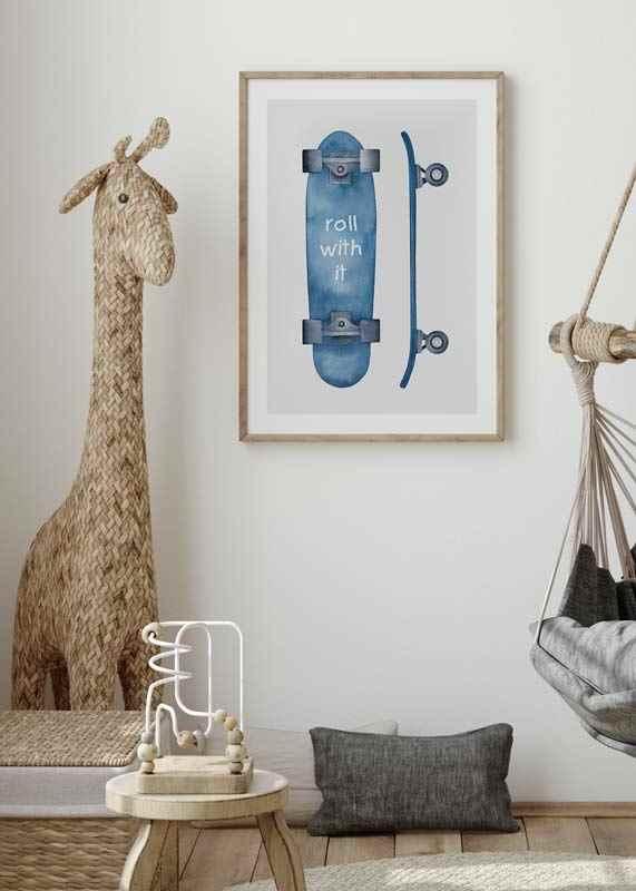 Skateboard Roll-4