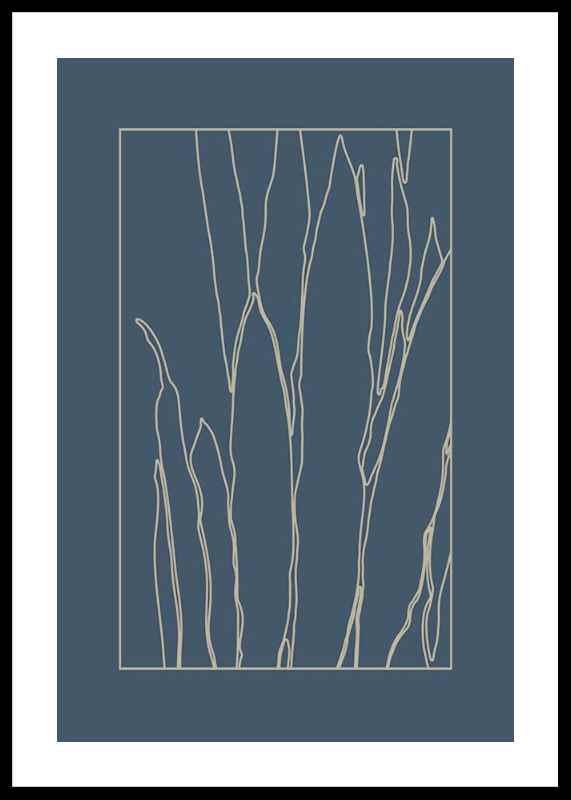 Botanical Line Art No1