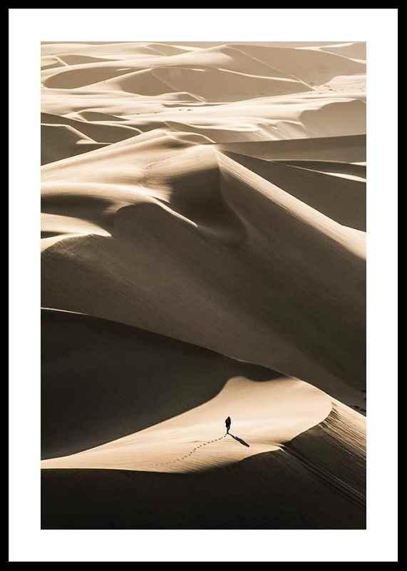 Walking In Desert-0