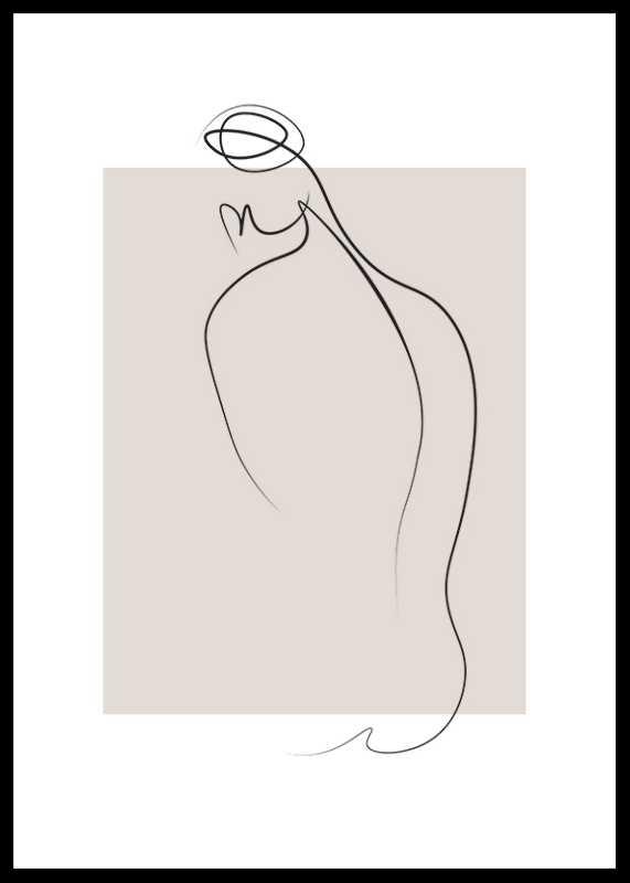 Shapes Line Art No1-0