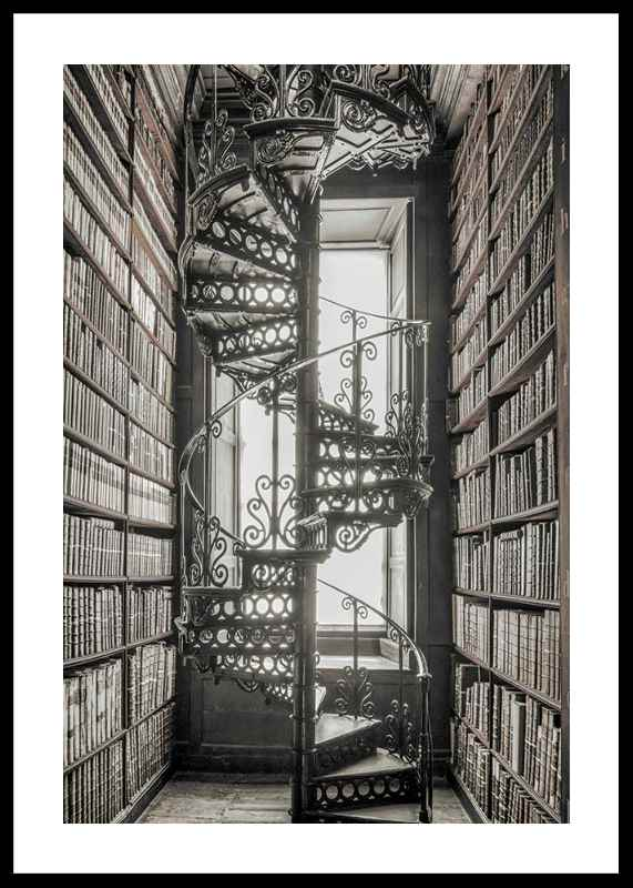 Books And Staircase-0