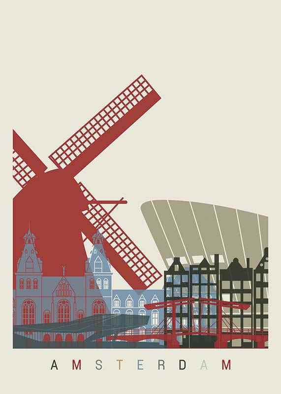 Amsterdam Landmarks-1