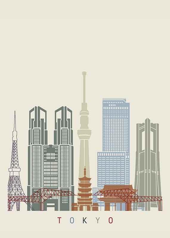 Tokyo Landmarks-1