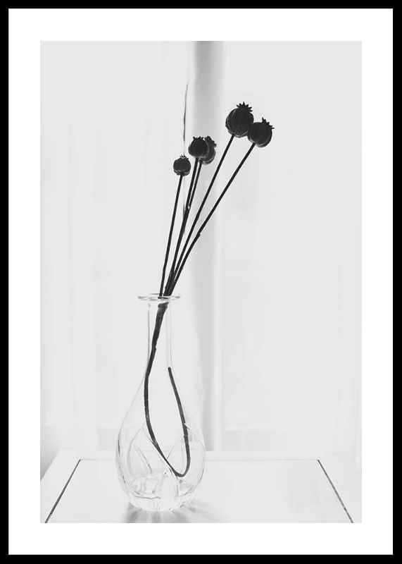 Poppies In A Vase-0