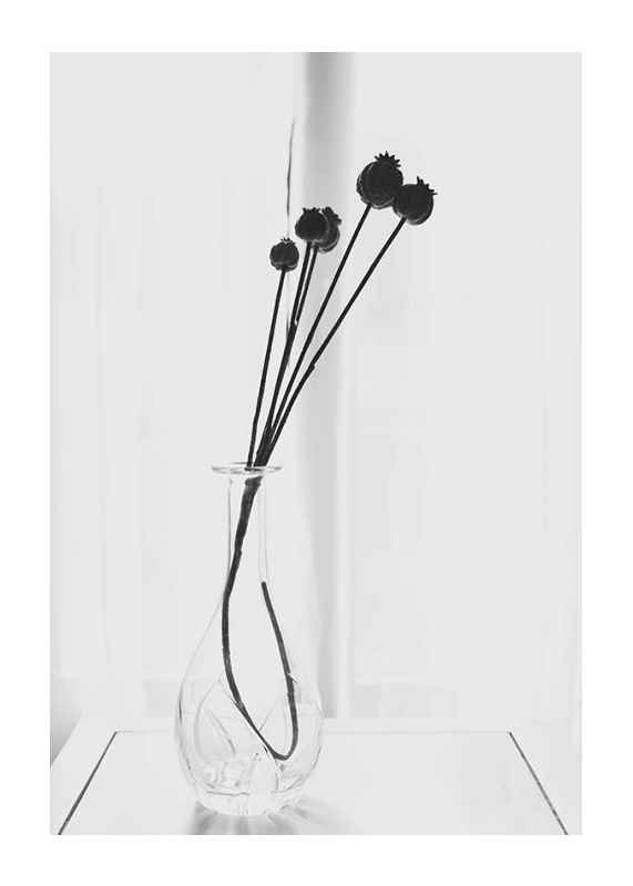 Poppies In A Vase-1