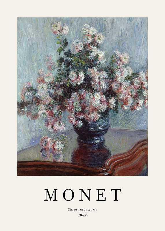 Monet Chrysanthemums-1