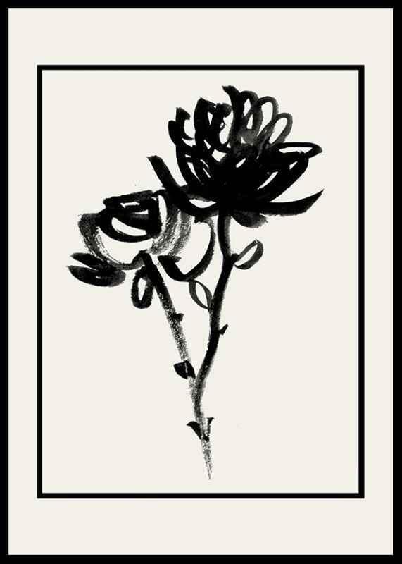 Black Flowers-0