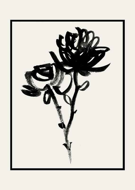 Black Flowers-1