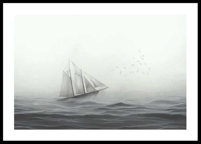 Boat On Sea-0