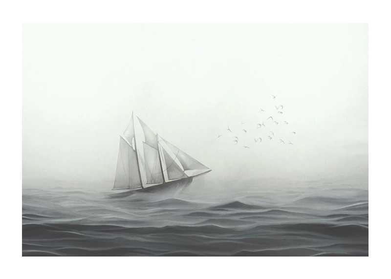 Boat On Sea-1