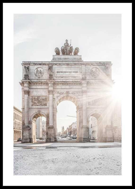 The Siegestor In Munich