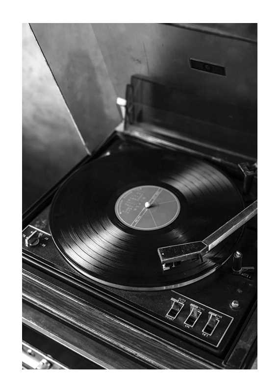Vintage LP Player-1