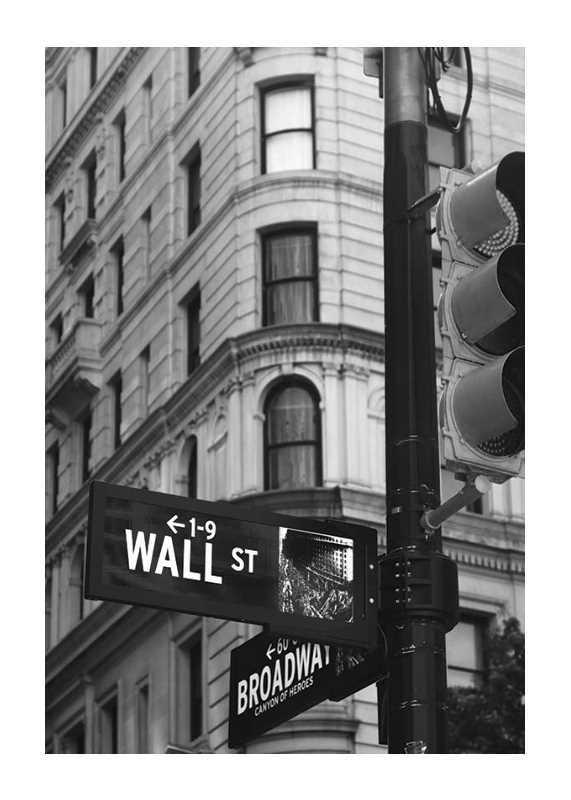 Wall Street Sign-1