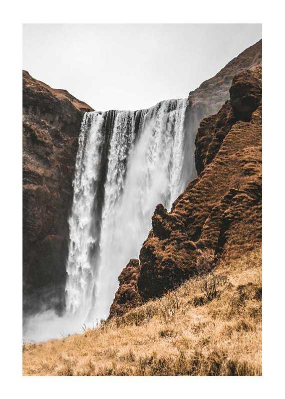 Skogafoss Waterfall-1