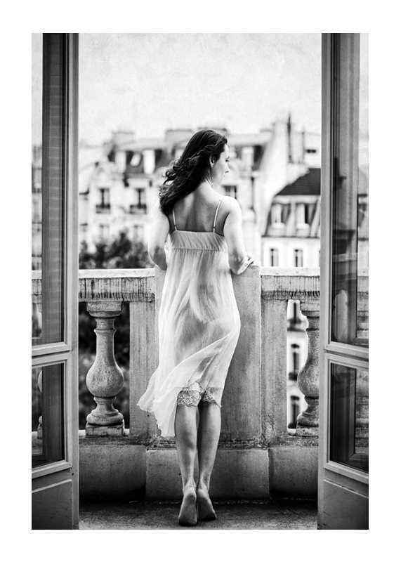 Woman On Balcony-1