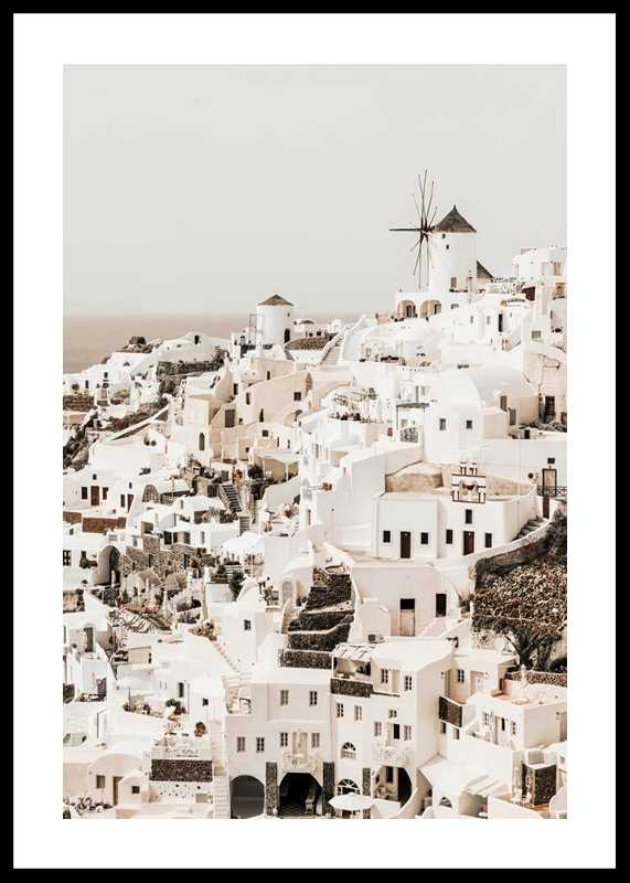 Oia Village Santorini