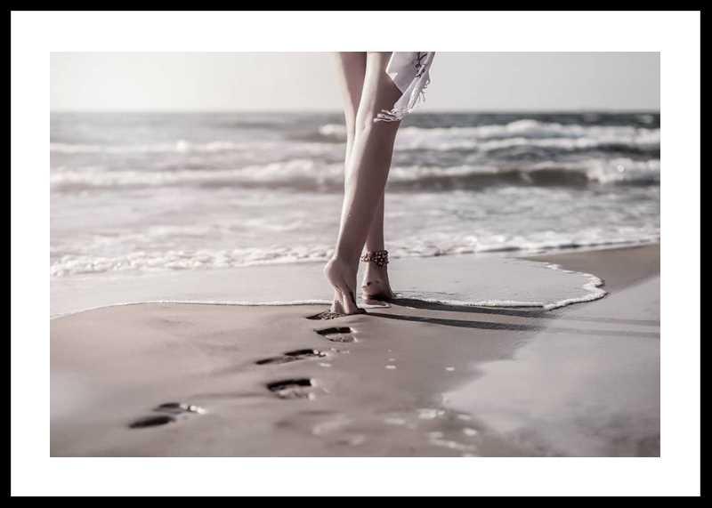 Beach Footprints-0