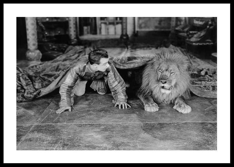 Man And Lion-0