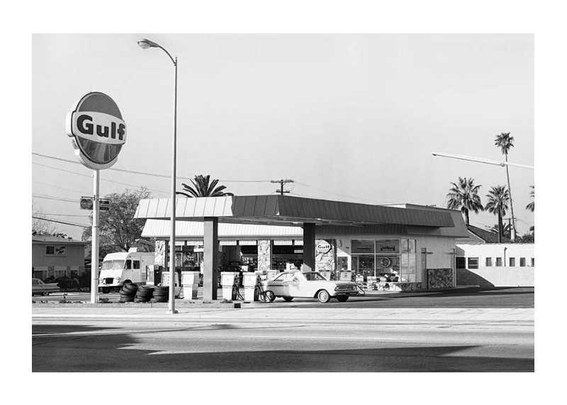 Vintage Petrol Station-1