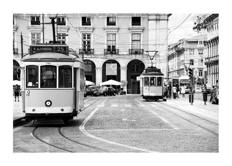 Trams In Lisbon-1